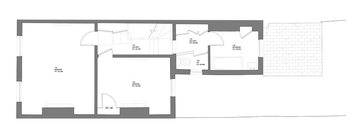 11 Sansom Street-A101-Model