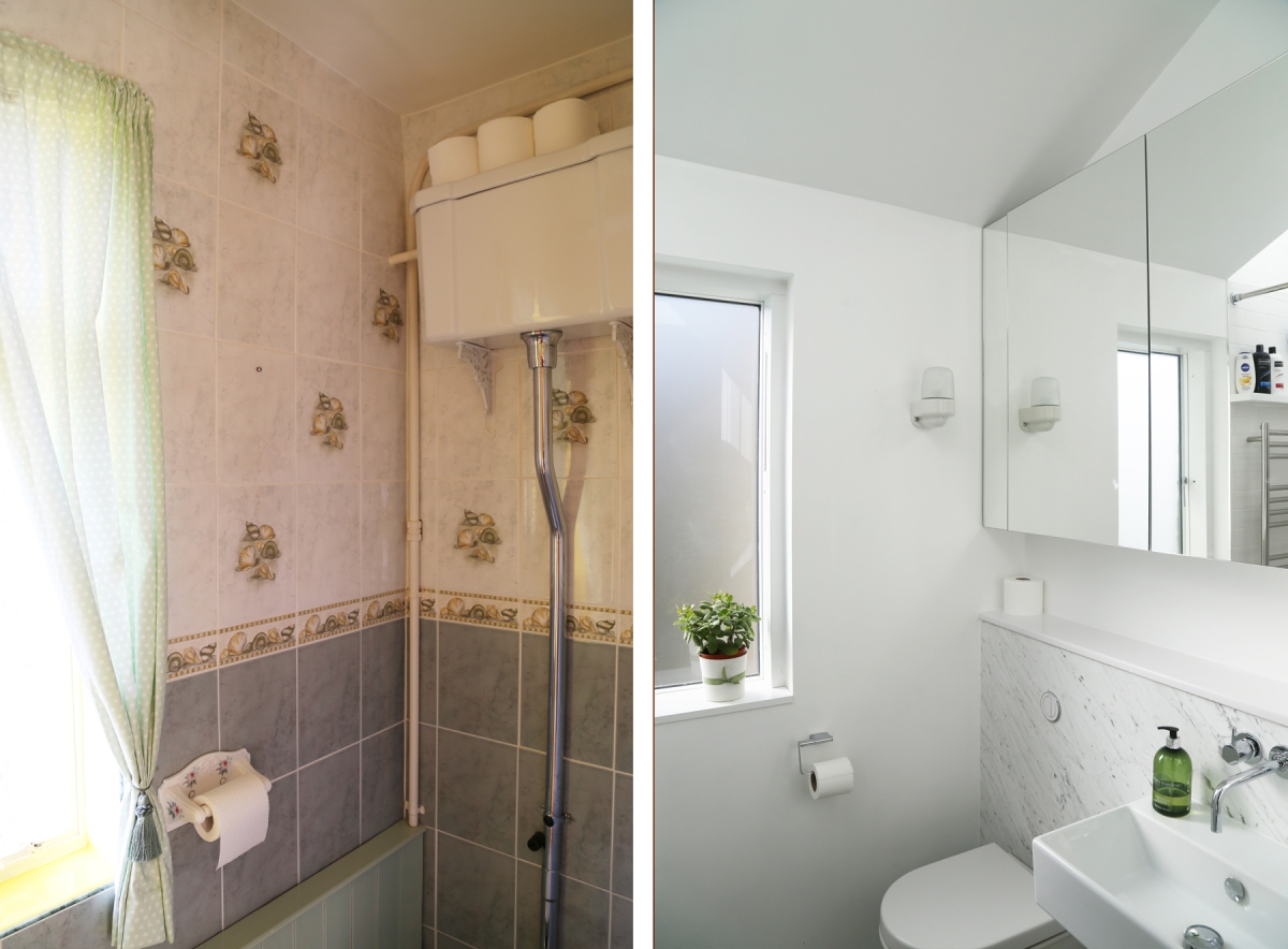 BathroomToilet&Window-Before&After