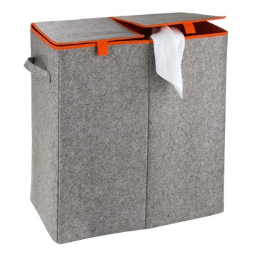 Wenko-Duo-Felt-Laundry-Basket-Grey-Orange-3440402100-l