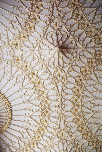 170725-StrawberryHillHouse-MainHallCeilingDetail