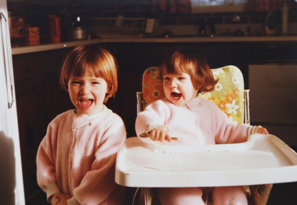 1979-Julia&Philippa-KitchenAtHome