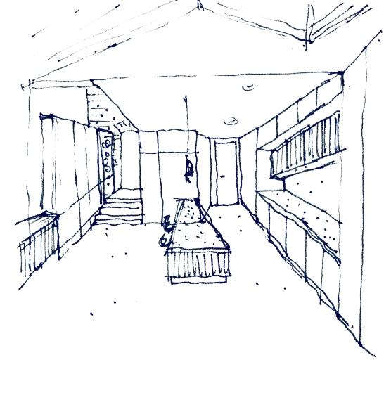 sketch-lookinginwardsfromgarden